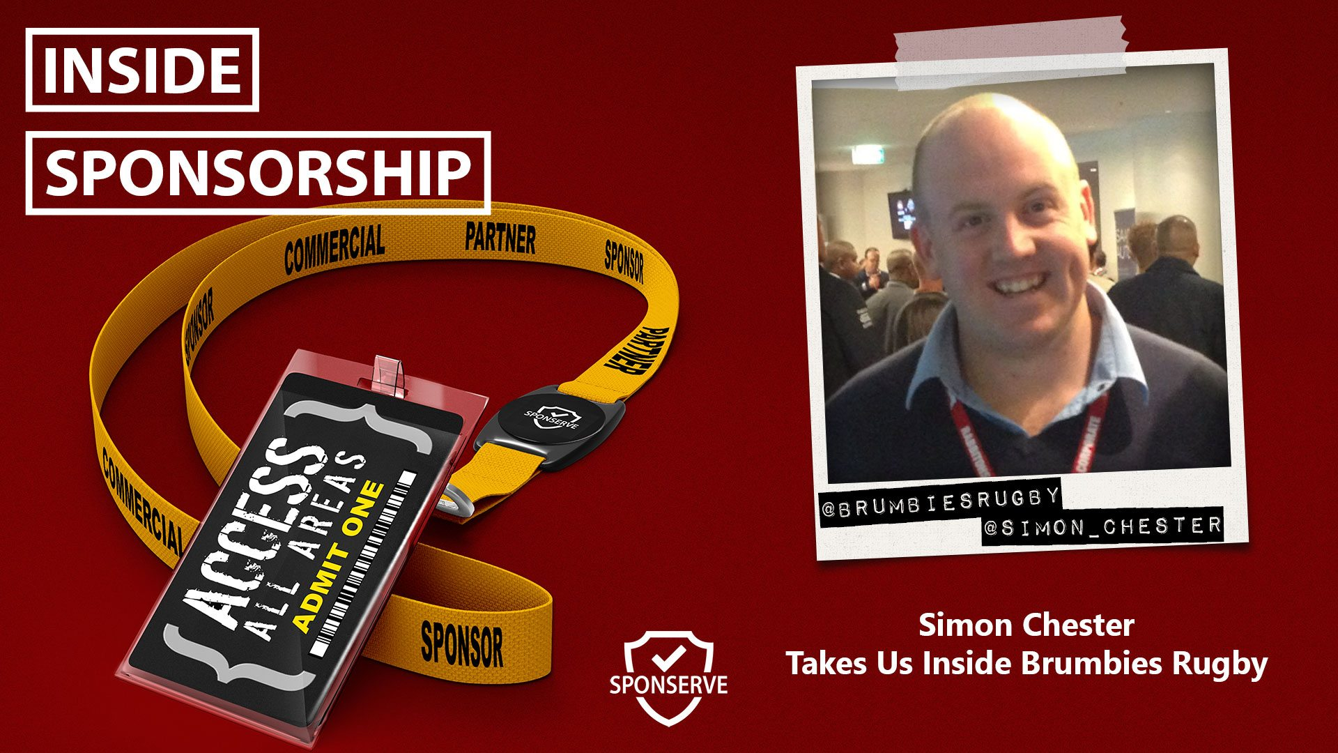 Inside Sponsorship - Simon Chester - Brumbies Rugby