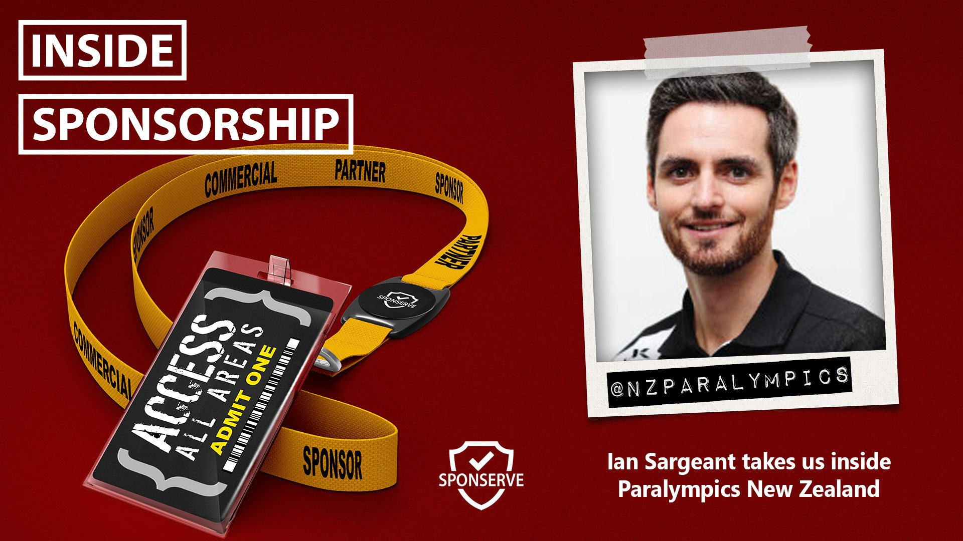 Inside Sponsorship - Paralympics New Zealand - Ian Sargeant
