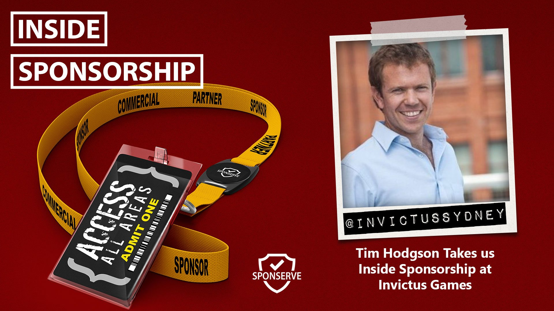 Inside Sponsorship Tim Hodgson Invictus Games