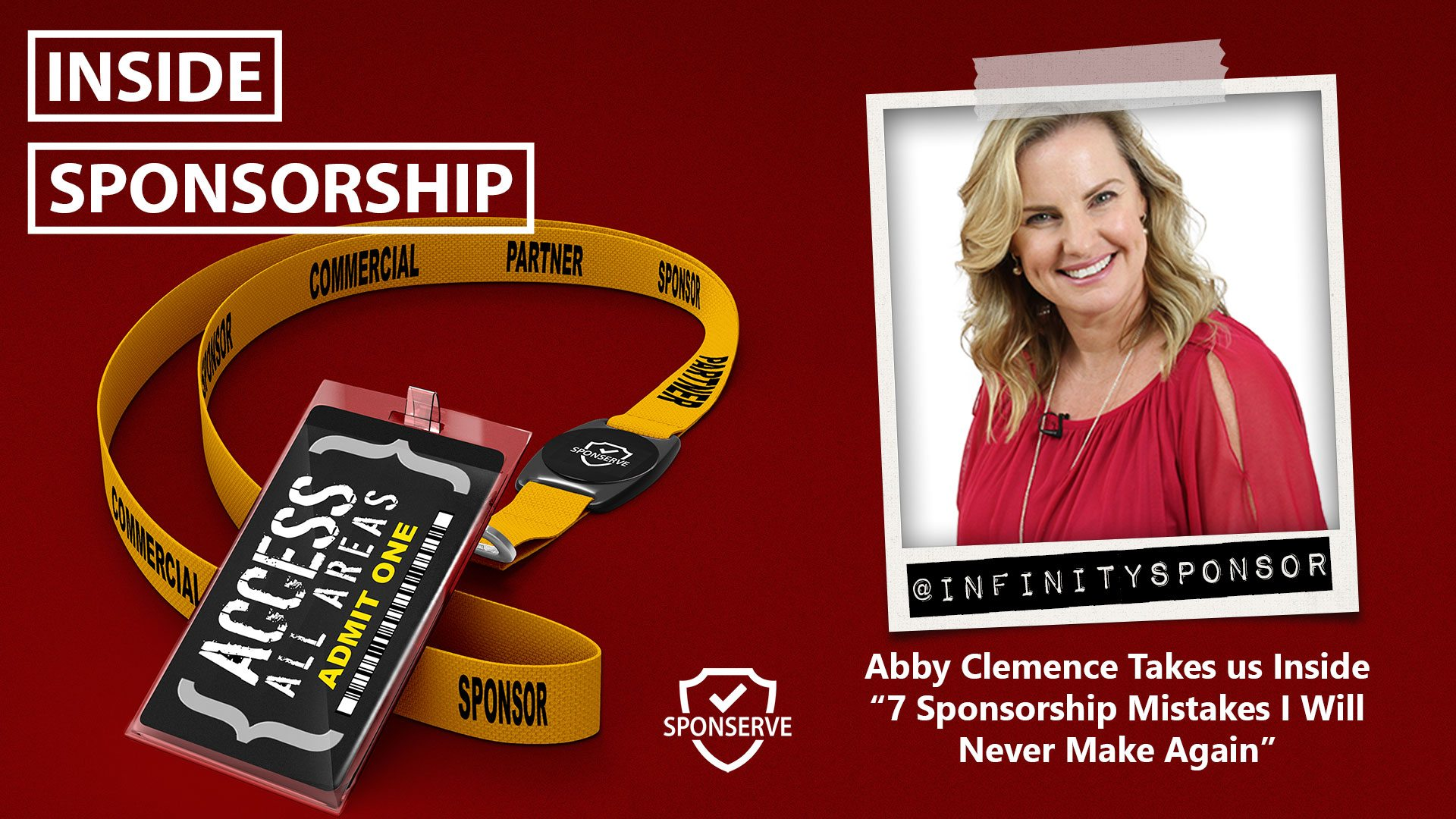 Inside Sponsorship - Mistakes - Abby Clemence from Infinity Sponsorship