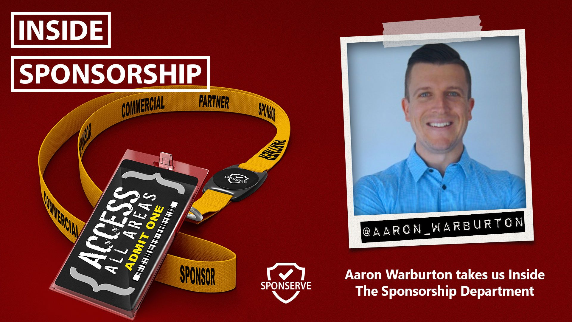 Inside Sponsorship Aaron Warburton The Sponsorship Department